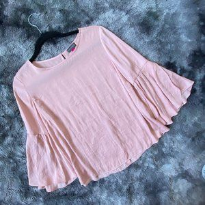 Vince Camuto Flowy Bell Sleeve Top